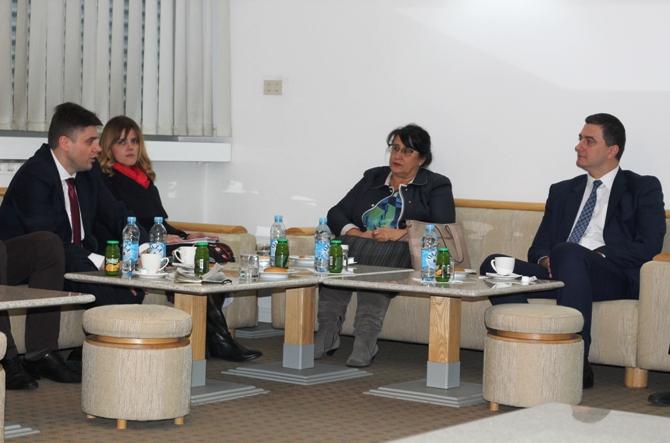Ministar Muratović u Medresi