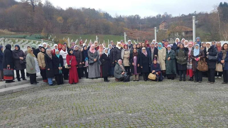 Džematlijke iz osam medžlisa posjetile Srebrenicu