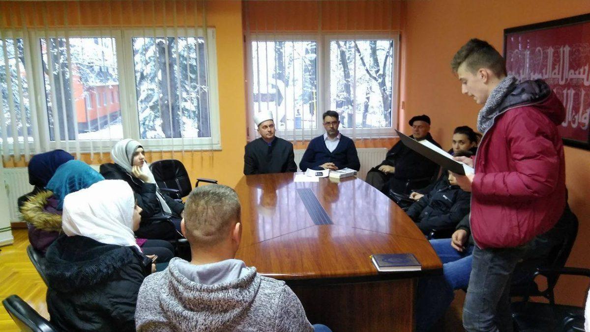 """Srebrenik: Dodjela priznanja za najbolji  literarni rad """"Poslanik a.s. u mom srcu"""""""