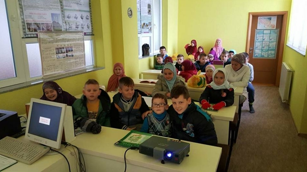 U džematu Babunovići opremljena mektebska učionica