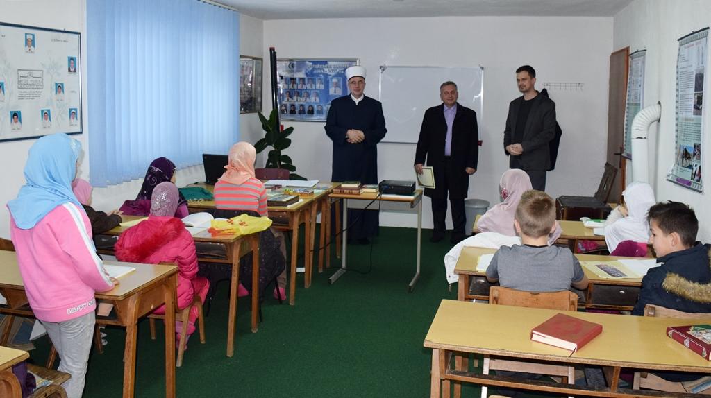 Posjeta mektebima u Srebreniku