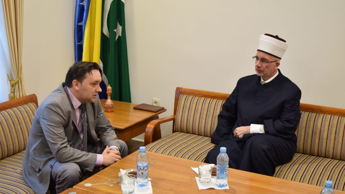 Muftija tuzlanski primio direktora Bosanskog kulturnog centra TK
