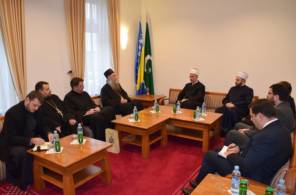 Susret muftije Fazlovića i episkopa Fotija