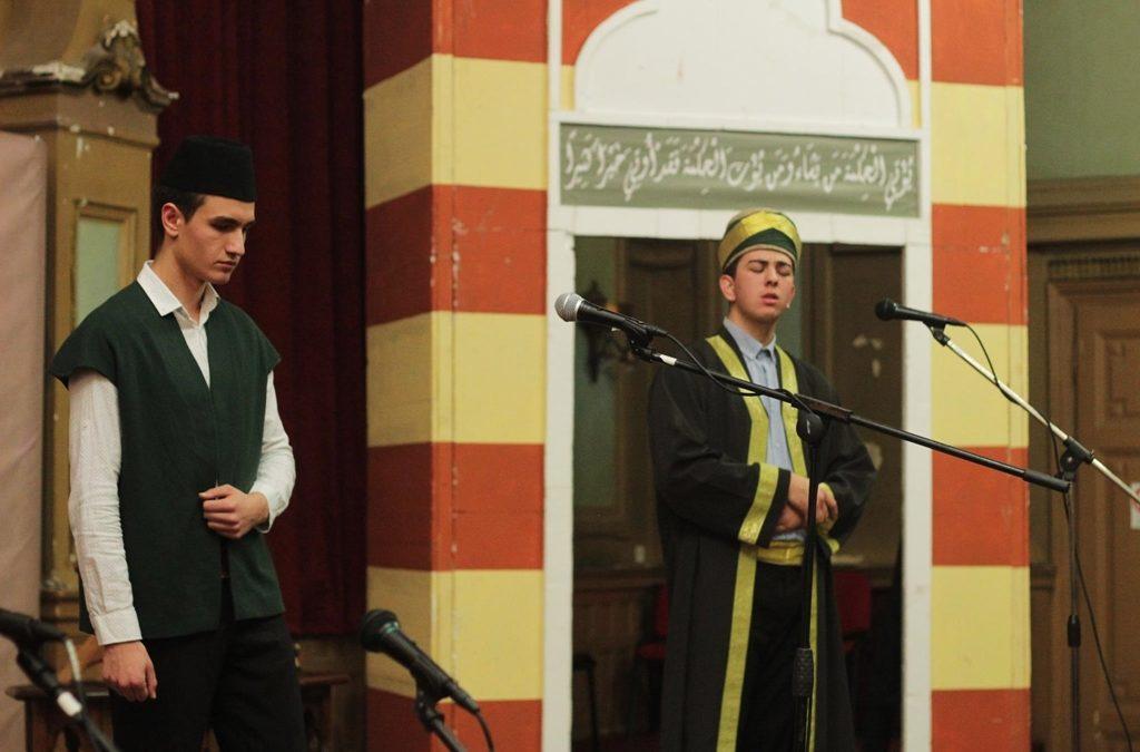 """Učenici """"Behram-begove medrese"""" izvođenjem predstave """"Behram-beg"""" oduševili publiku u Sarajevu"""