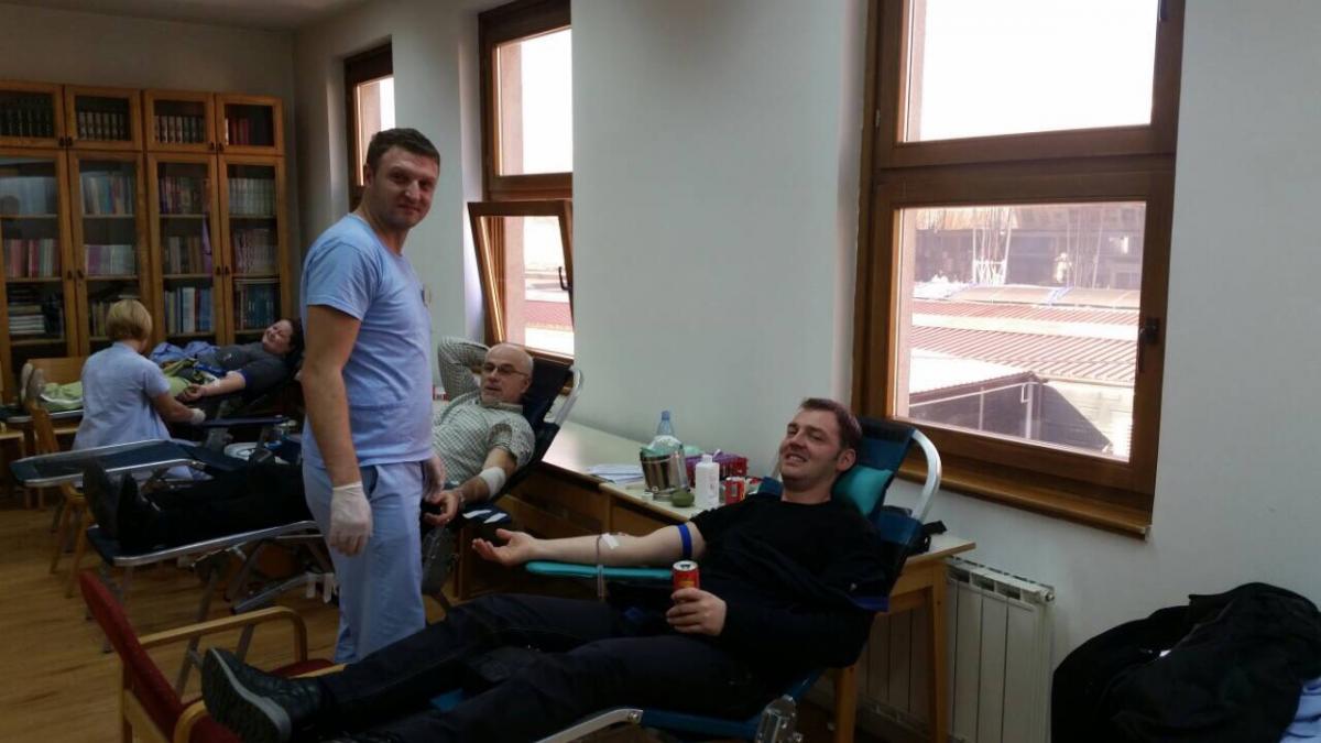 U Tuzli uspješno realizovana akcija darivanja krvi