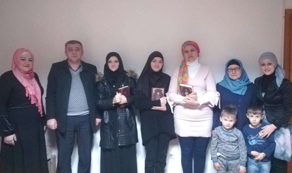 Janja: Prijem za polaznice Škole Kur'ana