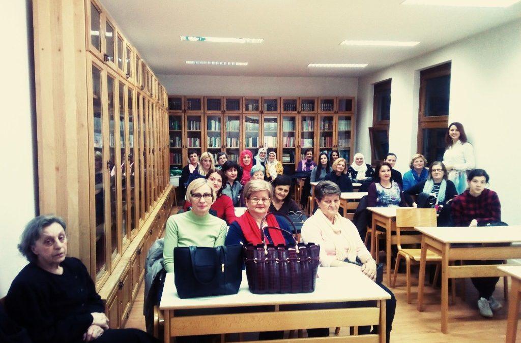 Edukacija o zdravlju Asocijacije žena Medžlisa IZ-e Tuzla