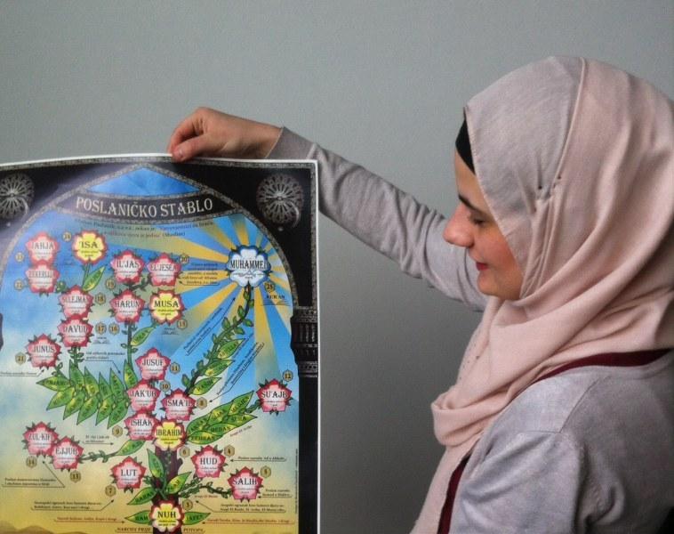 """Održana radionica """"Islam kroz vjeronaučni udžbenik i plakate"""""""