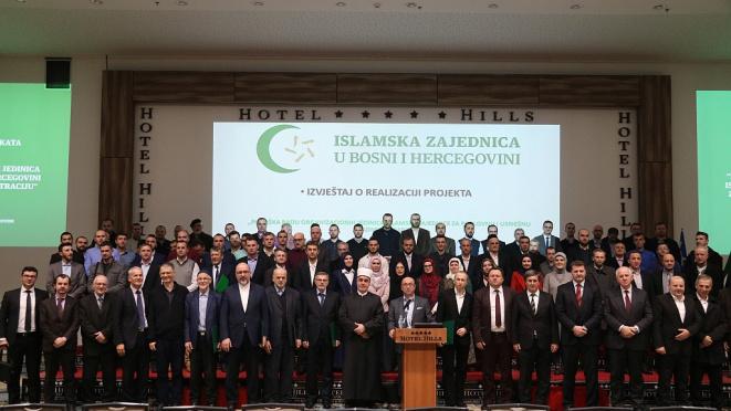 """Završen projekat """"Podrška radu organizacionih jedinica Islamske zajednice za poslovnu i uspješnu administraciju"""""""