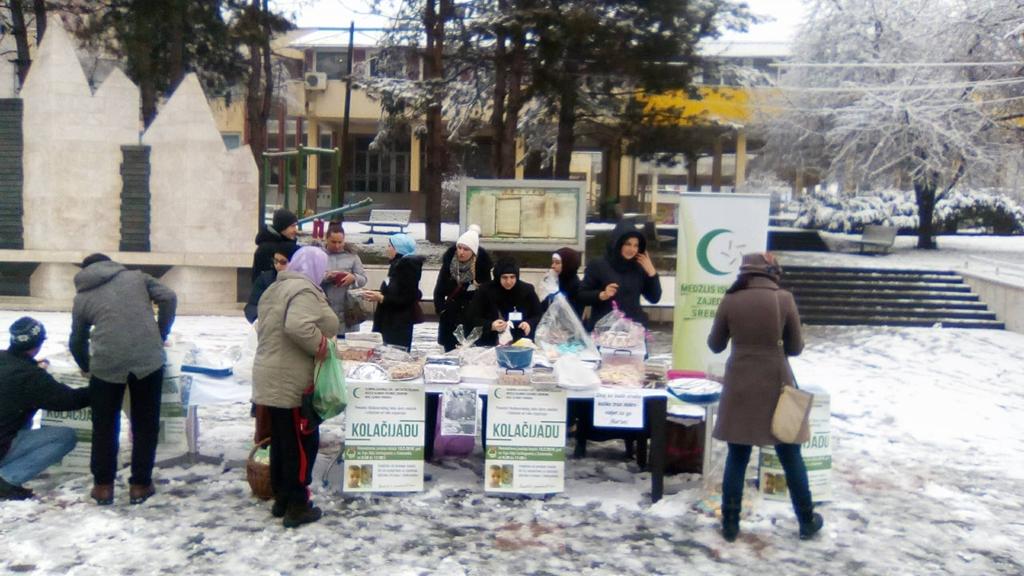Humanitarna akcija u Srebreniku
