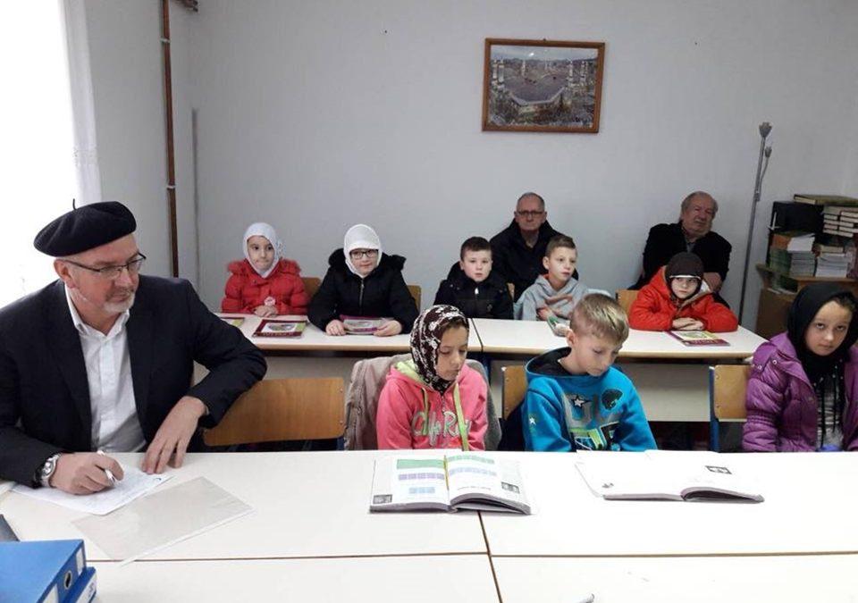 Posjeta mektebima u Modriči