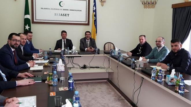 """Održan sastanak sa koordinatorima """"Mreže mladih"""" Islamske zajednice"""