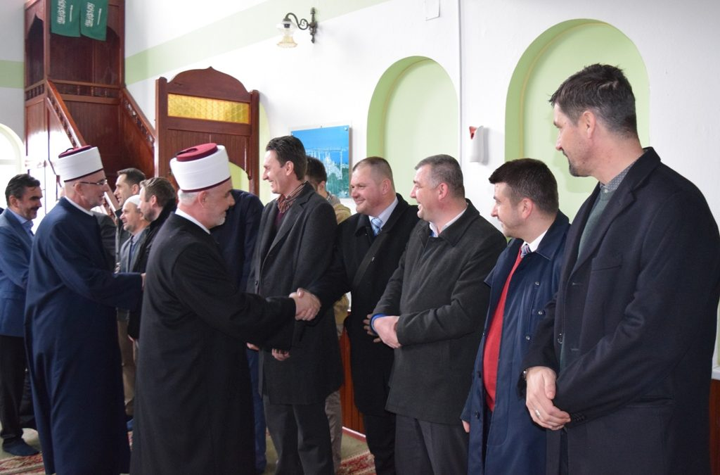 Reisu-l-ulema posjetio Zvornik i susreo se s podrinjskim imamima