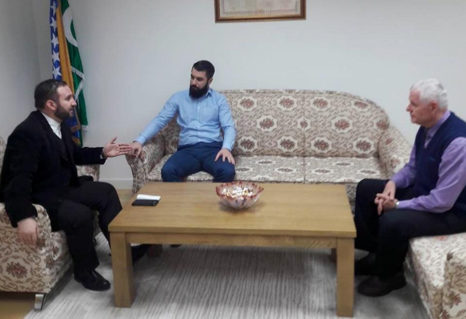 Medžlis IZ-e Tuzla posjetio direktor Narodnog pozorišta Tuzla