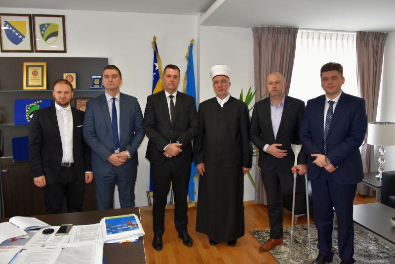 Uspješna saradnja Muftijstva tuzlanskog i Vlade Tuzlanskog kantona