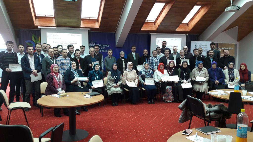 """Edukacija za imame i muallime """"Islamske vrijednosti: Brak – lični i porodični život"""""""