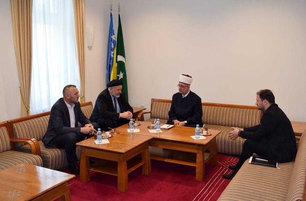 Muftija tuzlanski primio rukovodioca Ureda za hadž i umru