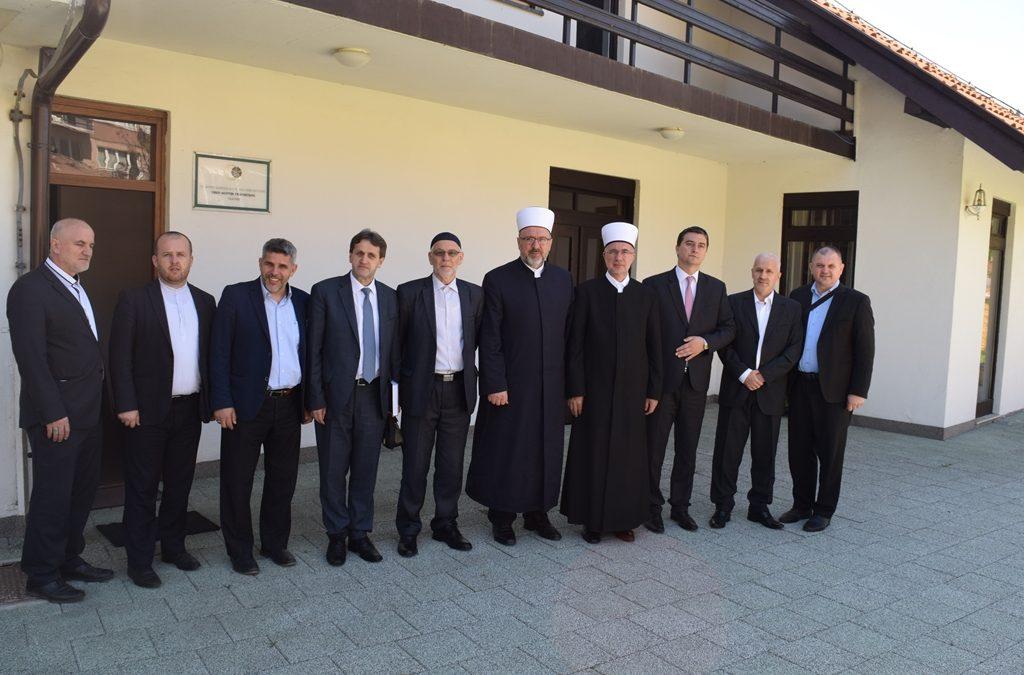 Delegacija Muftijstva tuzlanskog posjetila Muftijstvo travničko