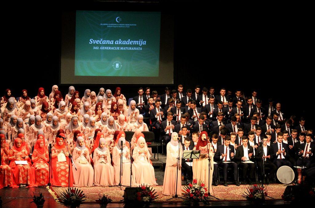 Svečana akademija 342. generacije Behram-begove medrese