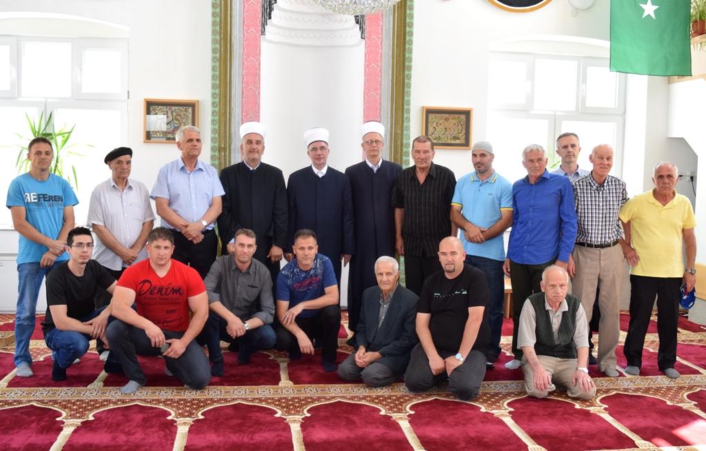 Muftija Fazlović posjetio Medžlis IZ-e Puračić