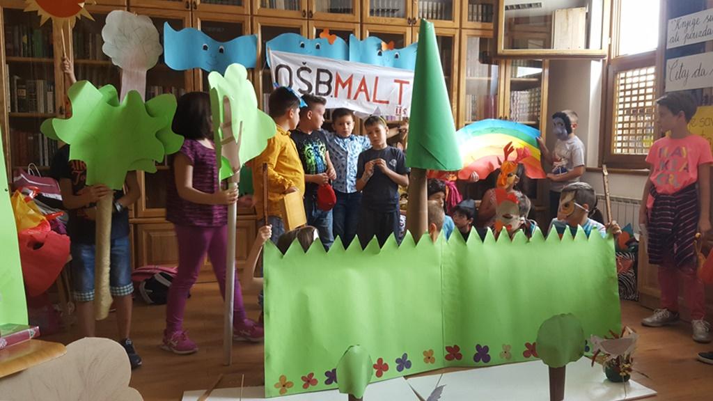 U biblioteci Behram-beg kulturno-edukativni program učenika osnovne škole