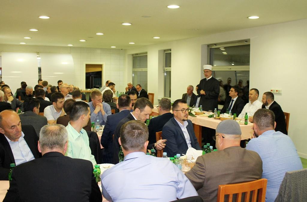 Iftar za zaposlenike u institucijama IZ-e u Tuzli
