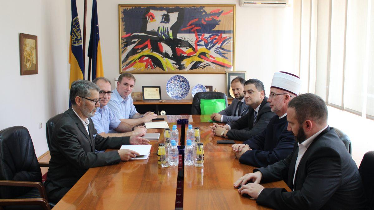 Delegacija Muftijstva tuzlanskog kod gradonačelnika Tuzle