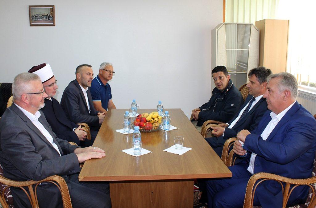 Muftija Fazlović se susreo sa premijerom Novalićem
