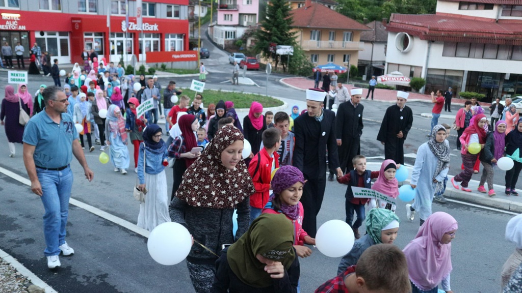 Iftar za 150 polaznika mektebske nastave u Srebrenici