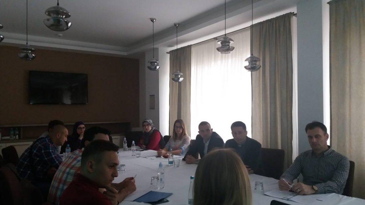 Trening o komunikacijskoj strategiji za članove odbora za međureligijsku saradnju