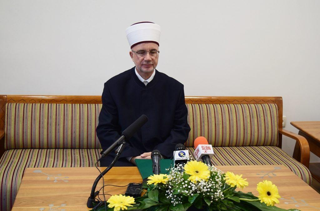 Bajramska čestitka muftije tuzlanskog Vahida-ef. Fazlovića
