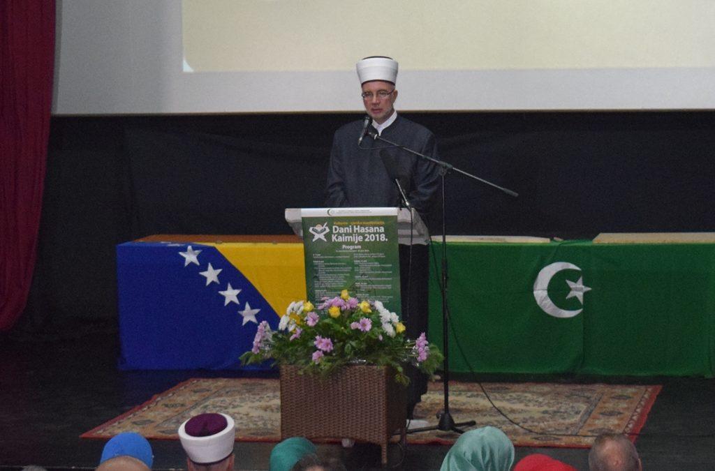 Obraćanje Muftije tuzlanskog na otvorenju 16. Dana Hasana Kaimijie