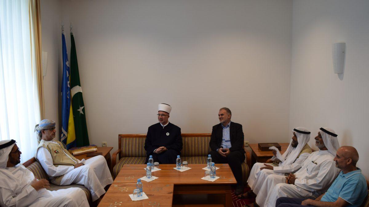 Muftija Fazlović primio predstavnike organizacije Sharjah Charity International iz UAE