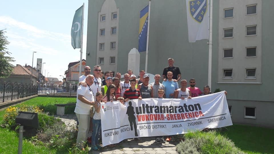 Maratonci iz Vukovara u Janji