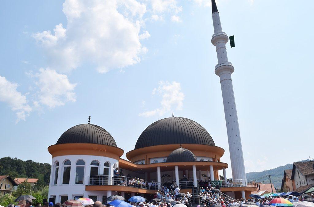 Svečano otvorena džamija u džematu Duboki Potok, MIZ Srebrenik