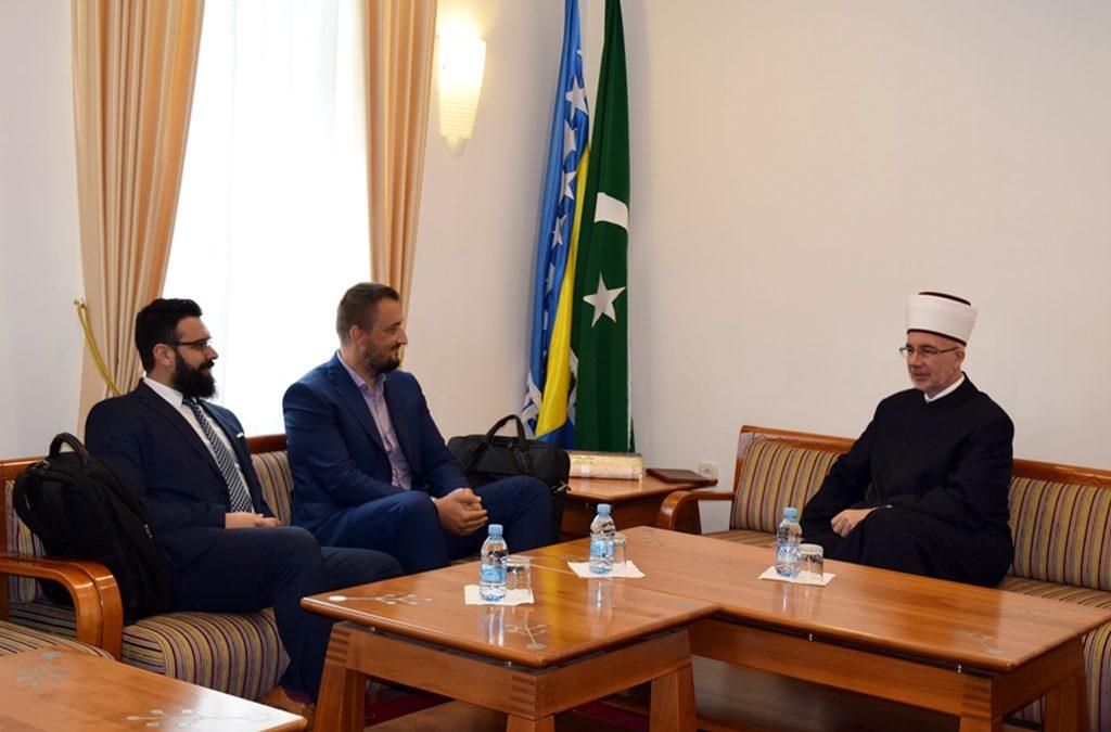Muftija Fazlović primio predstavnike tuzlanske firme Multi Lab