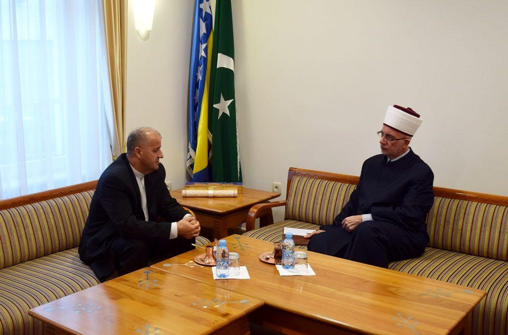 Muftija tuzlanski primio direktora CROPS-a