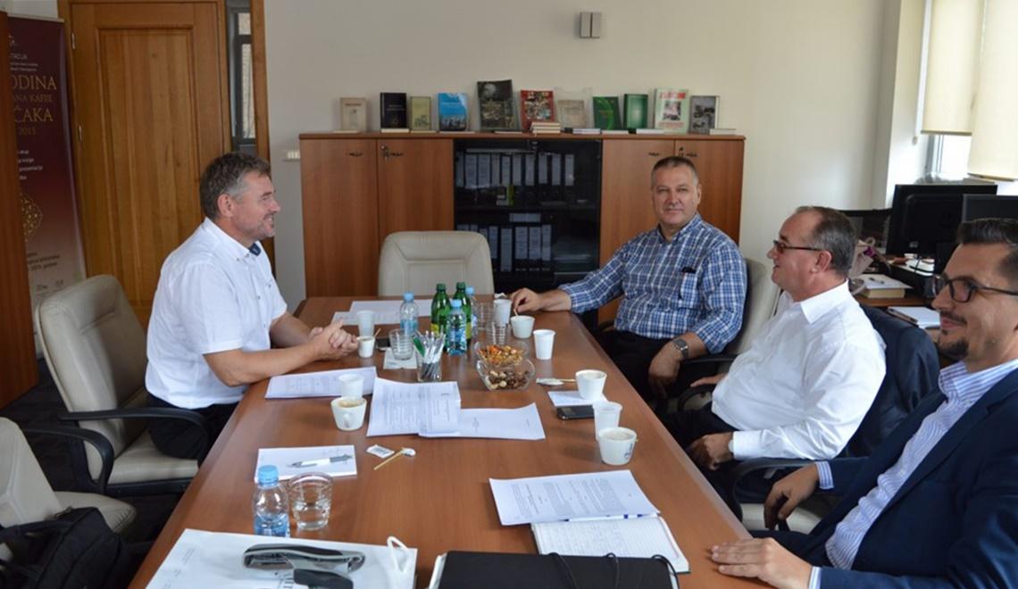 Radni sastanak predstavnika dvaju instituta