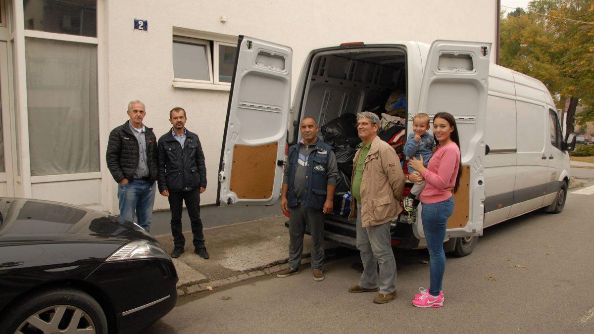 Pomoć migrantima u Velikoj Kladuši