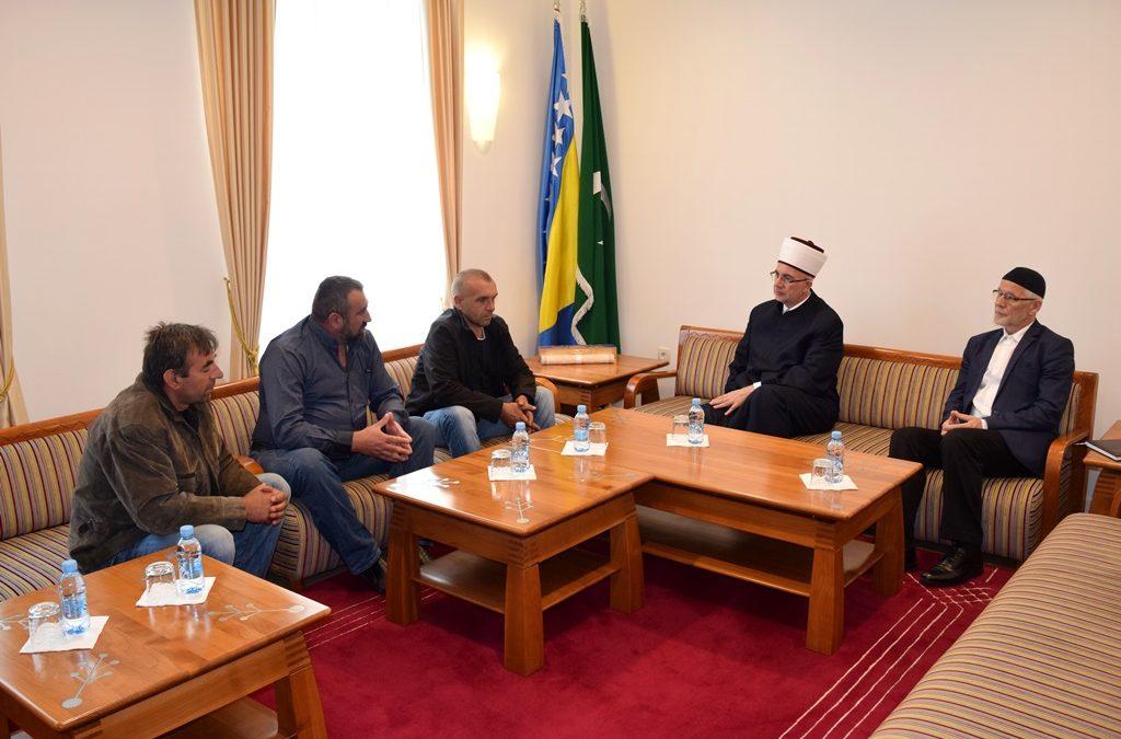 Muftija Fazlović primio roditelje učenika Edukativnog centra u Novoj Kasabi