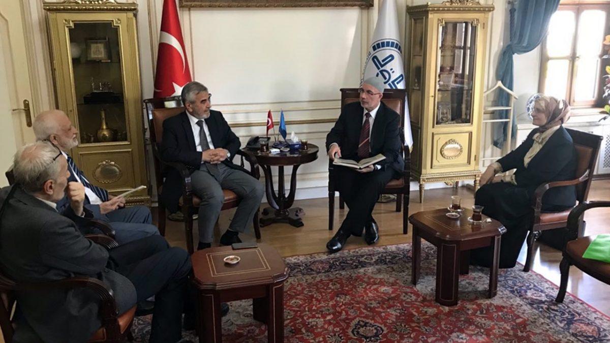Muftija Fazlović posjetio glavnog istanbulskog muftiju Yilmaza