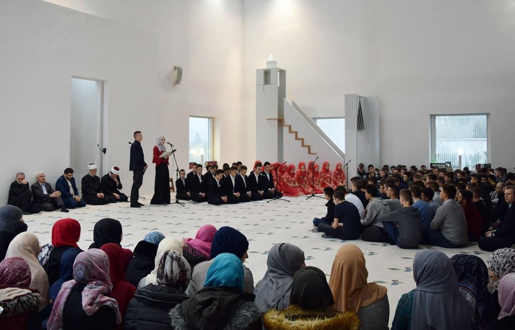 Mladi iz srednjih škola prisustvovali mevludu u Behram-begovoj medresi