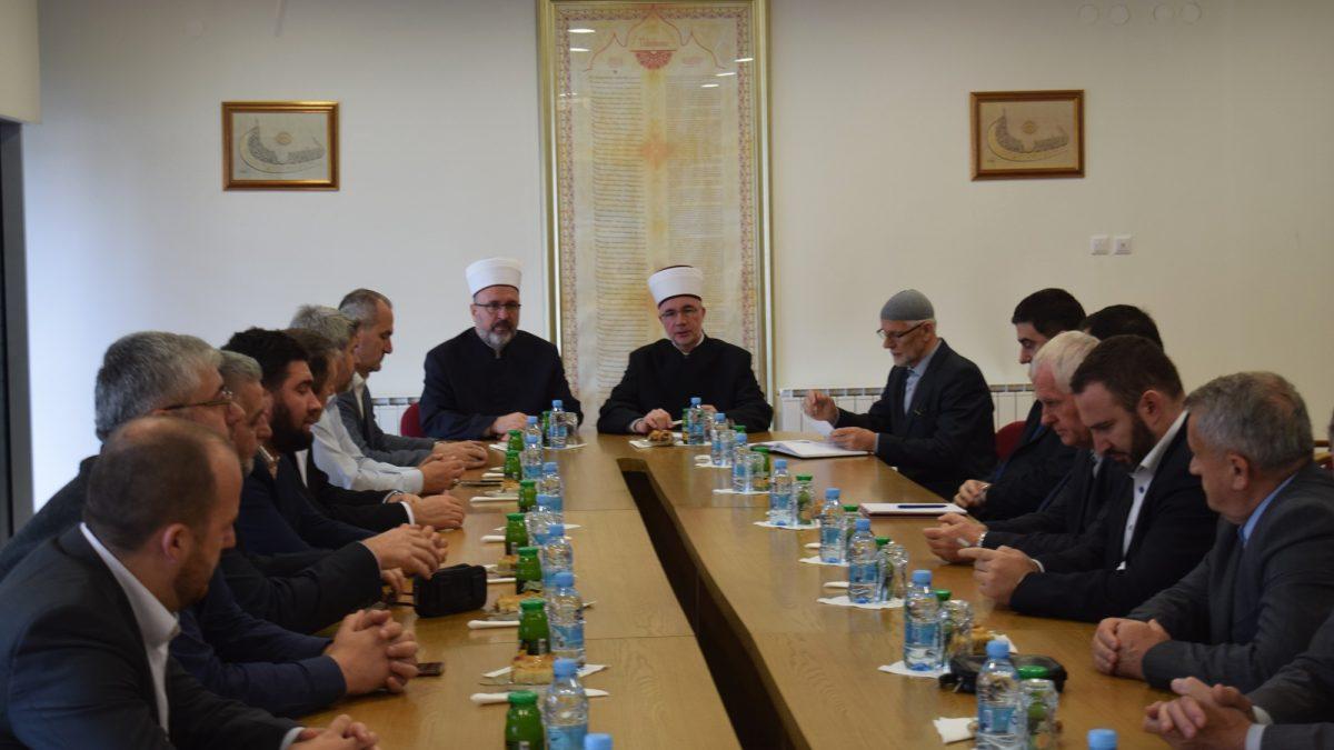 Muftija travnički sa saradnicima posjetio Muftijstvo tuzlansko
