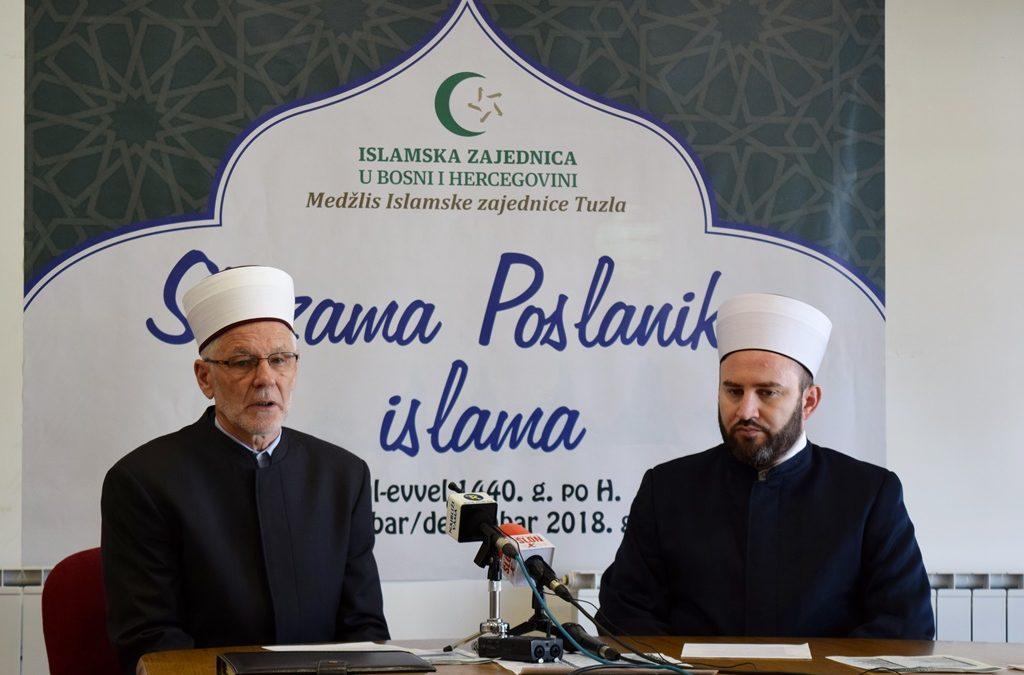 """U Tuzli počinje mevludska manifestacija """"Stazama Poslanika islama"""""""