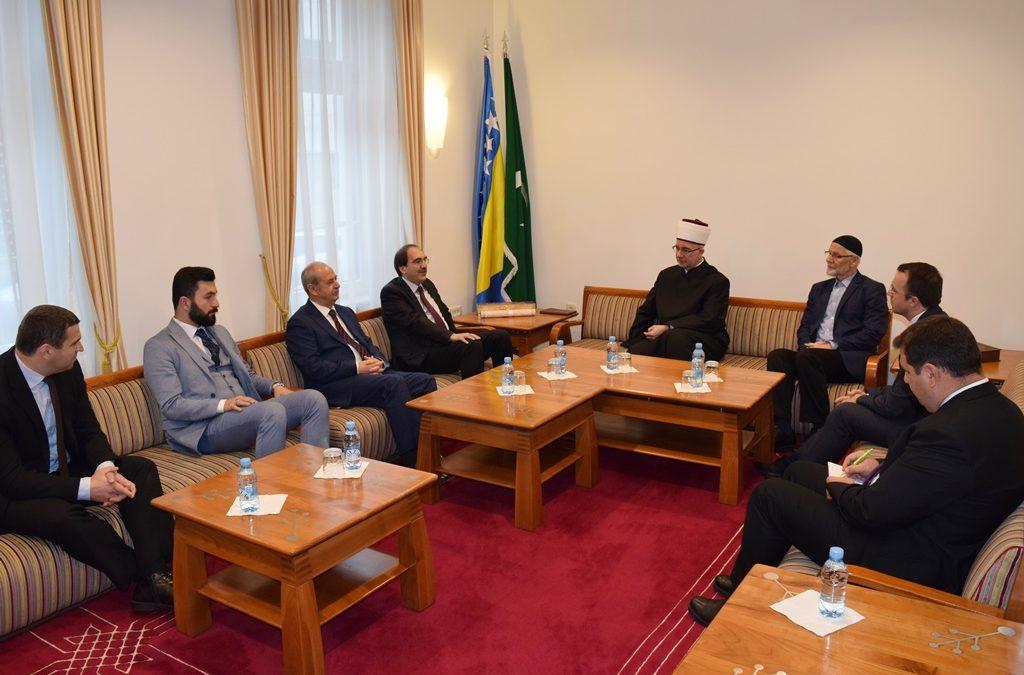 Delegacija Diyaneta posjetila Muftijstvo tuzlansko