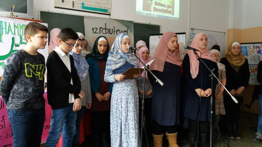 Učenici osnovnih škola u Gradačcu govorili o Muhammedu a.s.