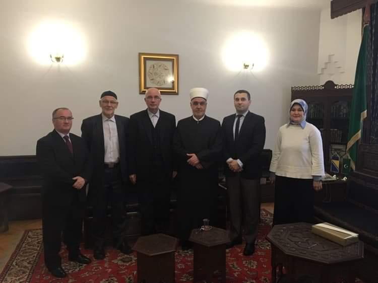 Reisu-l-ulemu posjetio Muftija tuzlanski i rukovodioci ustanova IZ-e u Tuzli