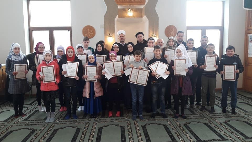 Modriča: Takmičenje iz Sire za polaznika mektebske nastave