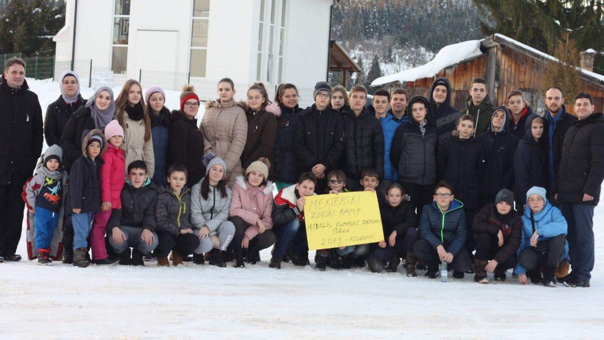 """Prvi """"Zimski mektebski kamp"""""""