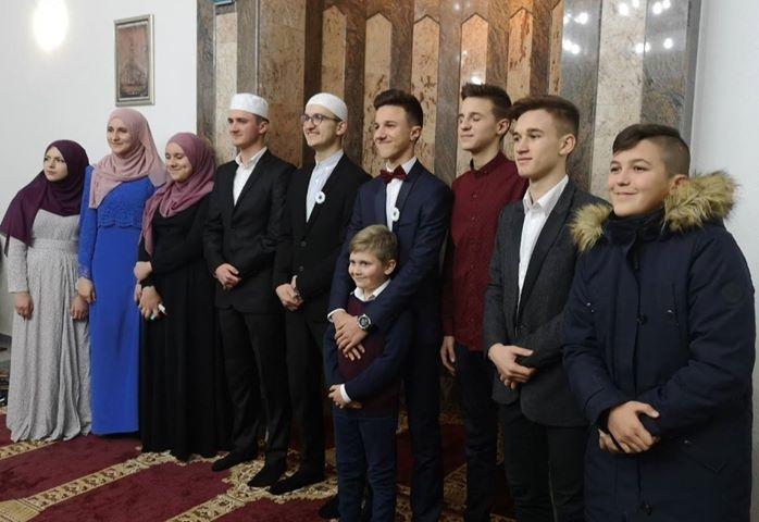 Večer Kur'ana u gradačačkom džematu Mahmut Mahala